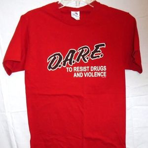 D.A.R.E Dare To Resist Drugs & Violence T-Shirt